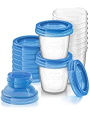 Philips Avent Breast Milk Storage Cups (10x6oz), SCF618/10