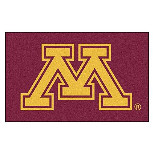 (NCAA University of Minnesota Golden Gophers Ulti-Mat Rectangular Area Rug)