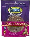 Cadet Gourmet Duck Breast Jerky Strip Dog Treats, 14 Ounce, 12 Pack For Sale