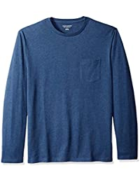 Men's Regular-Fit Long-Sleeve Pocket T-Shirt