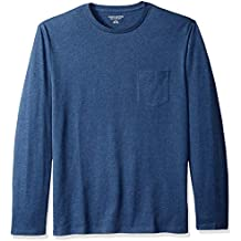 Amazon Essentials Men's Regular-Fit Long-Sleeve Pocket T-Shirt