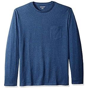 Amazon Essentials Men's Regular-Fit Long-Sleeve Pocket T-Shirt
