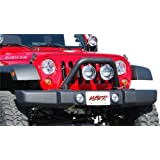 MBRP 130716 Black Coated Front Light Bar/Grill Guard System