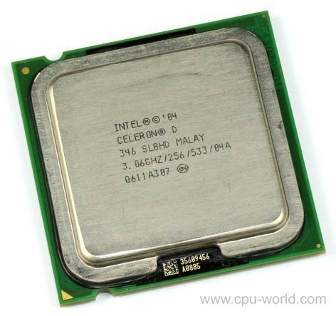 Intel Pentium 4 Sl7yv 2.93ghz/1m/533 Socket 775 P4 CPU Processor