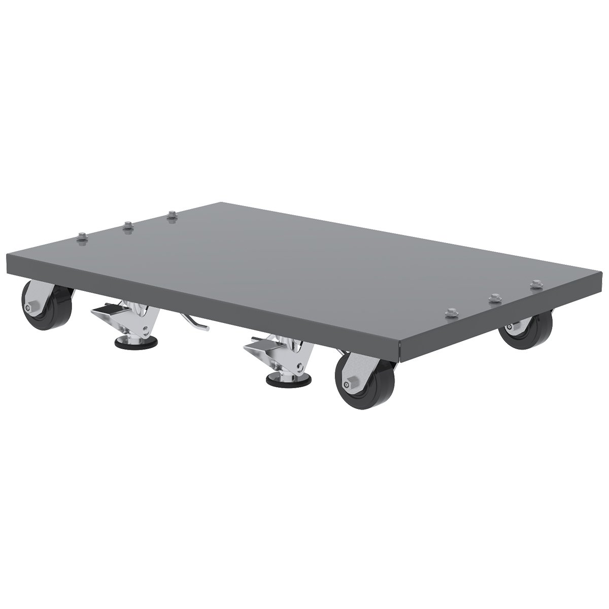 Akro-Mils 30661DOLLYGY Powder Coated Steel Dolly, Grey