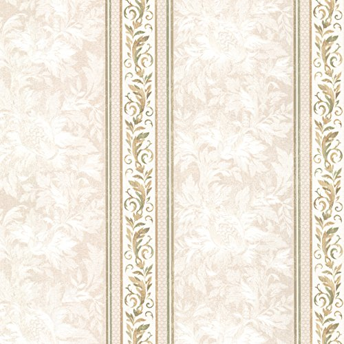 (Mirage 2530-20504 Katherine Ornate Stripe Wallpaper,)