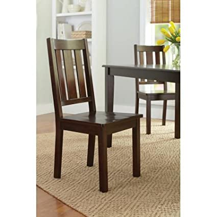 Amazoncom Better Homes And Gardens Bankston Dining Chairs Set Of