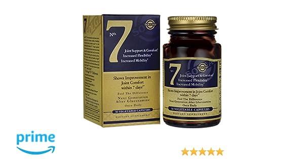 Solgar 7 Cápsulas vegetales - Envase de 30 cápsulas: Amazon.es: Salud y cuidado personal