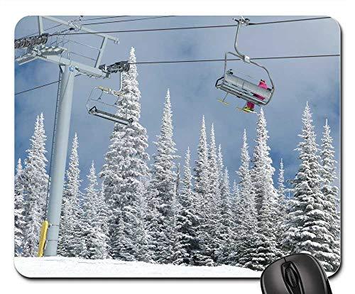 Mouse Pad - Sun Peaks Ski Resort British Columbia