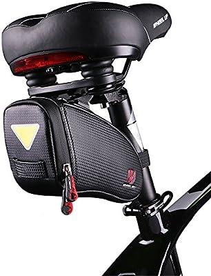 Bolsa de sillín de bicicleta Bolso de bicicleta Bolso de sillín de ...