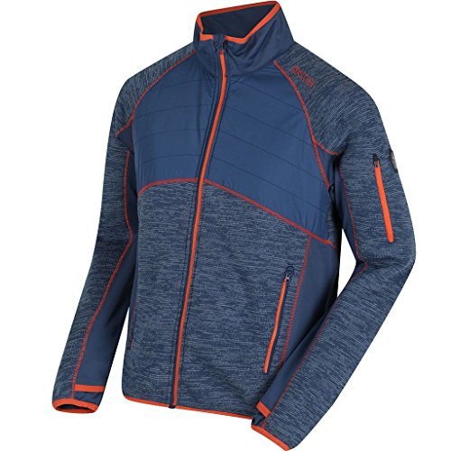 Regatta 2018 Mens Robson Hybrid Water Repellent Stretch Jacket Dark Denim - On Shops Robson
