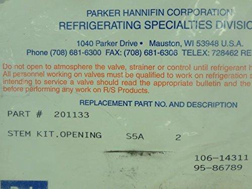 Parker 201133 Opening Stem Kit, S5A, Size: 2''