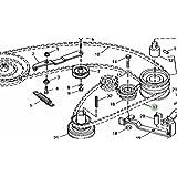 John Deere Original Equipment V-Belt #M93045