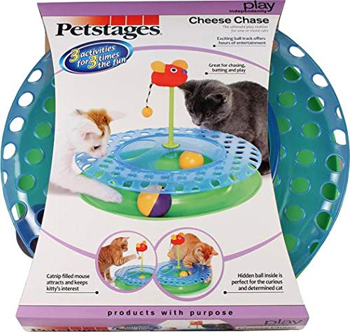 (Petstages Cheese Chase Toy)