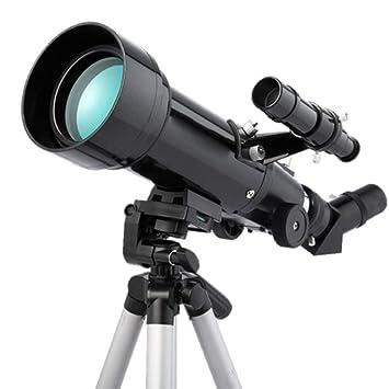 Jszzz Telescopio, astronómica Refracción 70MM HD Completamente ...