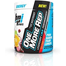 BPI Sports -One More Rep Pre Workout Powder, Fruit Punch, 25 Servings