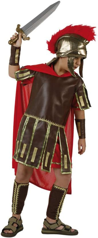 Atosa-96596 Disfraz Romano, color rojo, 5 a 6 años (96596): Amazon ...