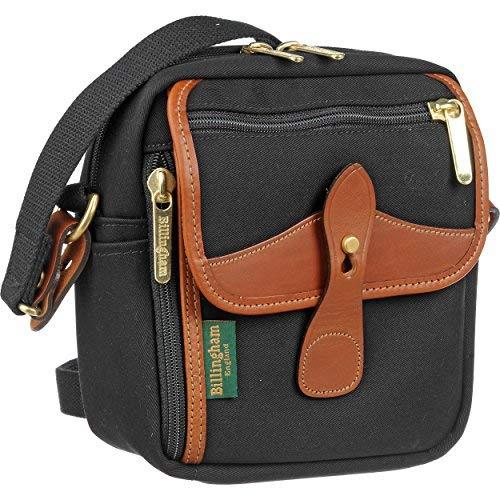 Billingham Polaカメラ用保護袋、ブラック/レザー [並行輸入品] B07LH27HW5