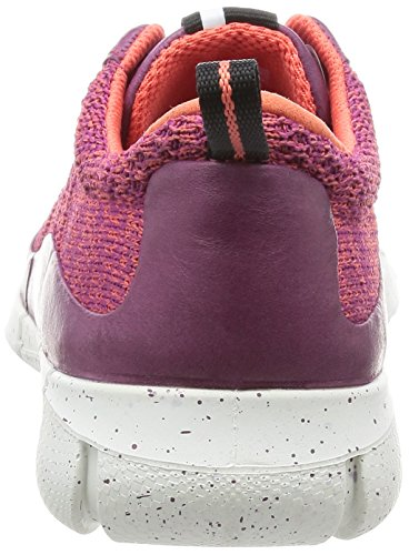 ECCO Women's Intrinsic Knit Fashion Sneaker Fuchsia/Coral Blush best prices sale online Manchester sale online 2015 sale online 100% original sale online discount pay with visa KcslI