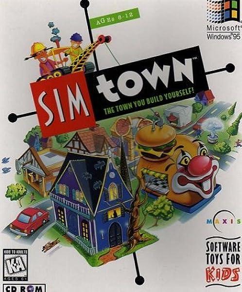 Amazon Com Sim Town Video Games