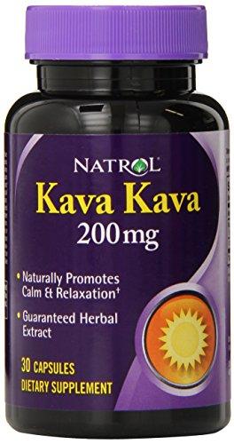 Natrol Kava 200mg Capsules 30 Count