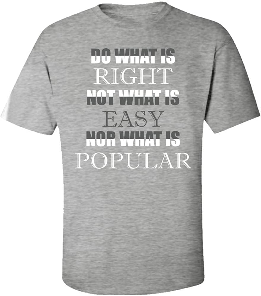 Kids T-Shirt Do What is Right Not What is Easy Nor What is Popular Creative Art Design