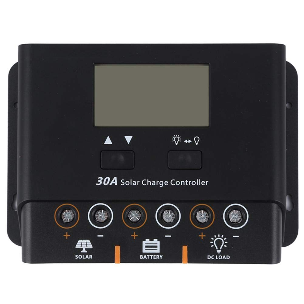 Rich Solar 30A Advanced PWM Solar Charge Controller Battery Charger Regulator 12V 24V with LCD Display