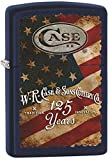 W.R. Case 125th Anniversary American Flag Blue Matte Zippo Lighter