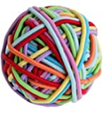 GOODY HAIR COLORFUL BALL OF BANDS OUCHLESS GENTLE PONYTAILERS (100pack)