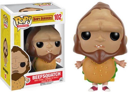 (Funko POP Animation: Bob's Burgers - Beefsquatch Action)