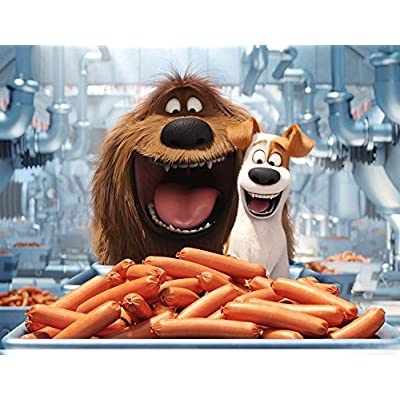 Ravensburger The Secret Life of Pets Puzzle In Bone Shaped Box 300 Piece Jigsaw Puzzle for Kids – Every Piece is Unique, Pieces Fit Together Perfectly: Toys & Games