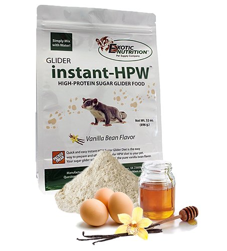 Instant-HPW Sugar Glider Food 1 lb. (Makes 3 lb) (Nutrition Glider Sugar)