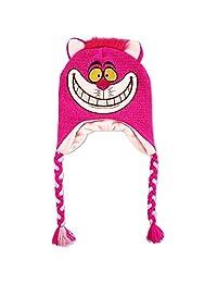 Disney Big Girls Alice in Wonderland Cheshire Cat Character Cold Weather Laplander Hat, Age 7-16