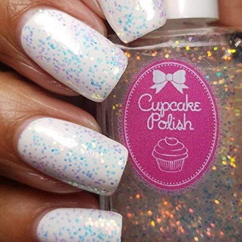 Amazon.com: Frosting - iridescent opal topcoat nail polish by ...