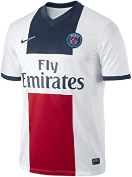 Nike - Camiseta del equipo de fútbol PSG BLANC/MARINE/ROUGE Talla:extra-large: Amazon.es: Deportes y aire libre