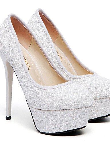 GGX/Damen Heels Frühjahr/Herbst Heels-Party & Abend/Kleid Stiletto Ferse Sparkling Glitter andere white-us4-4.5 / eu34 / uk2-2.5 / cn33