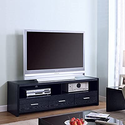 Coaster Home Furnishings 700645 Contemporary TV Console, Black