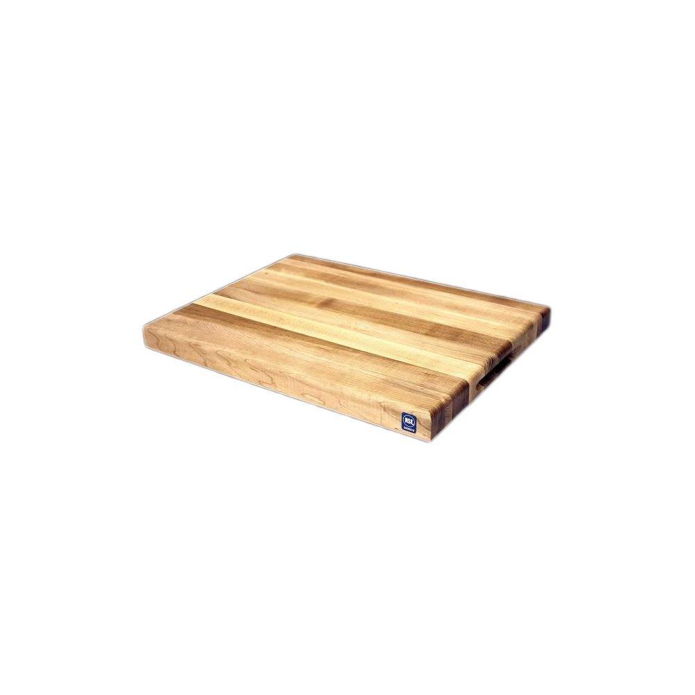 Michigan Maple Block AGA01812 18 x 12 x 1.75'' Maple Cutting Board by Michigan Maple Block