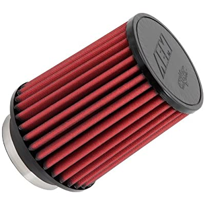 AEM 21-2058DK Universal DryFlow Clamp-On Air Filter: Round Straight; 4 in (102 mm) Flange ID; 7 in (178 mm) Height; 6 in (152 mm) Base; 6 in (152 mm) Top: Automotive