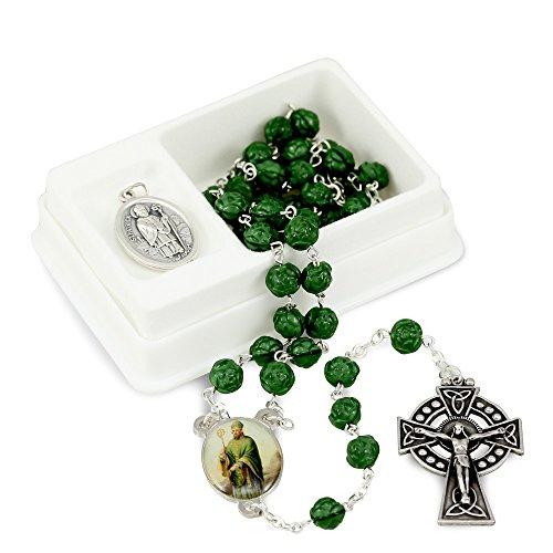 St Patrick Rosary Medal Gift ()