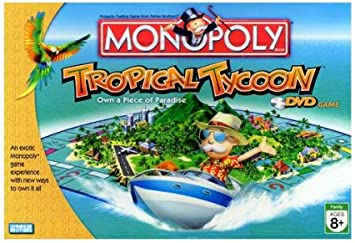 Monopoly Tropical Tycoon Game by Hasbro Games (English Manual ...