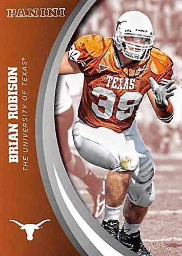 official photos 7e9c2 eda0f Brian Robison football card (Texas Longhorns) 2015 Panini Team Collection  #57