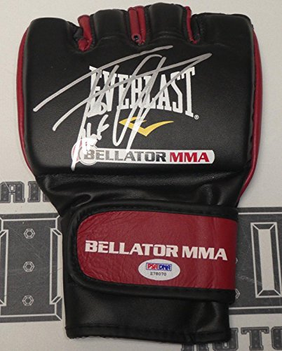 Tito Ortiz Signed Official Bellator MMA Fight Glove COA UFC 40 Autograph - PSA/DNA Certified - Autographed UFC Gloves