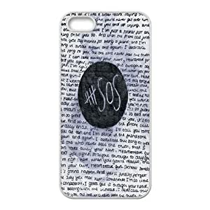 Retro Design The Music Band 5SOS for Iphone 5s/5 Case ARL744600
