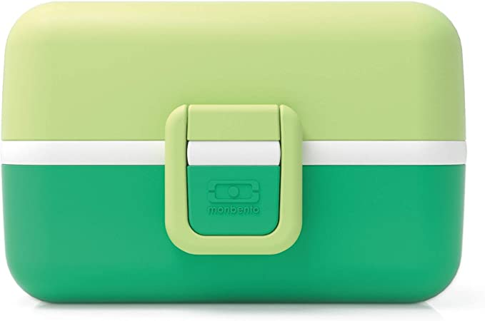 monbento - MB Tresor Verde Apple Fiambrera Infantil - Caja merienda