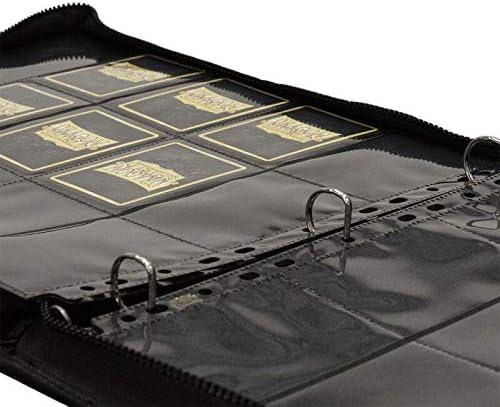 XL Black Card Codex Zipster Binder