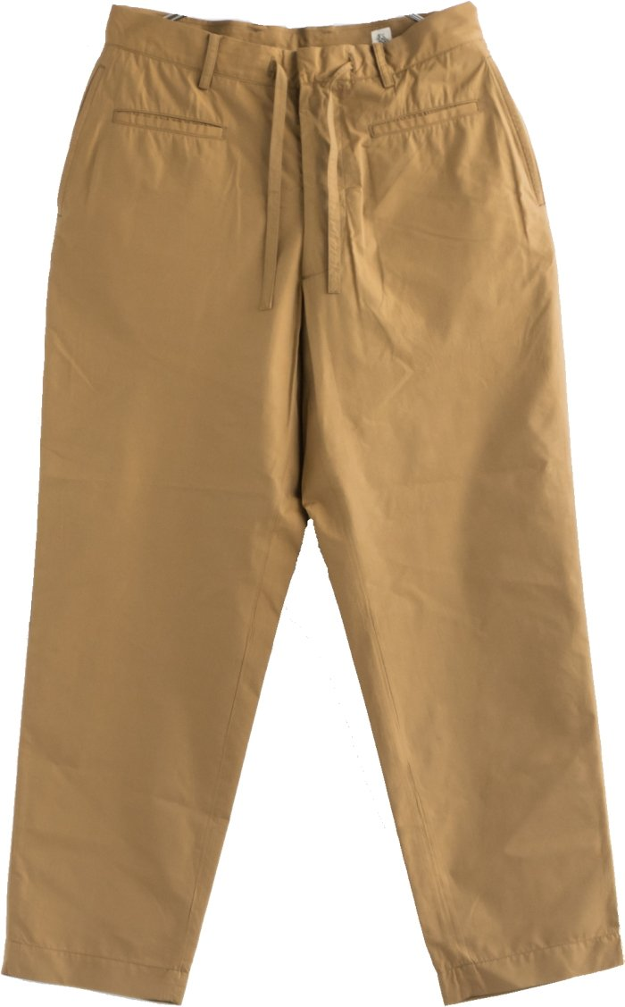 (KS8SPT01) KAPTAIN SUNSHINE(キャプテンサンシャイン) Traveller Trousers (トラベラートラウザース) B07BHCKT58 30|カーキ カーキ 30