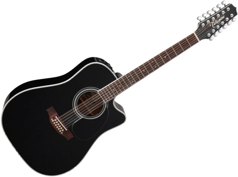 Takamine EF381SC Dreadnought - Guitarra acústica con funda rígida ...