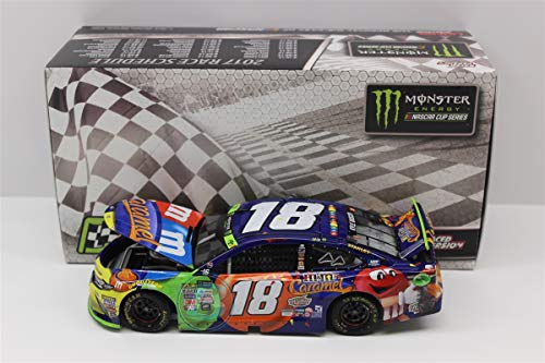 usch 2017 New Hampshire Win Raced Version M&M's Caramel NASCAR Diecast 1:24 Scale ()