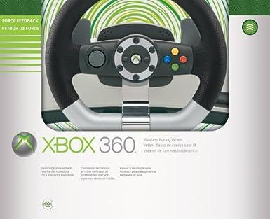 Microsoft Xbox 360 Wireless Racing Wheel - Volante/mando (Ruedas + ...